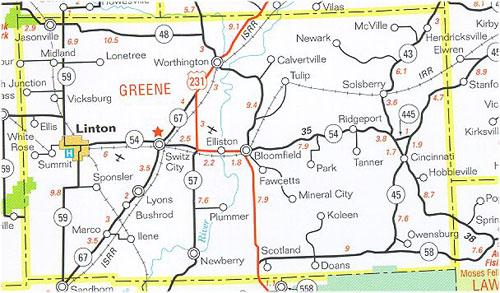 Greene County Indiana Historical Society